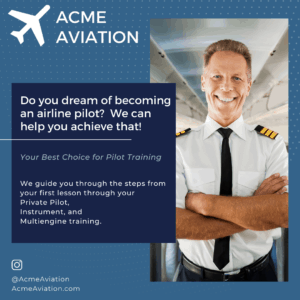 Flight School Social Media Post